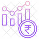 Financial Rupee Report Icon