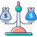 Financial Scale Icon