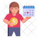 Financial Schedule Icon