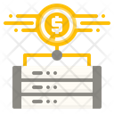 Financial server Icon
