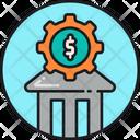 Financial Service Bank Financial Company Icon