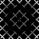 Gear Cogwheel Dollar Icon