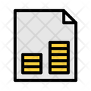 Financial Sheet Finance Sheet Bank Sheet Icon
