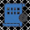 Financial Sheet Icon