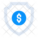 Financial Shield Money Protection Business Safety Icon