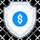 Financial Shield Icon