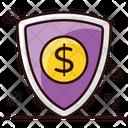 Financial Shield Security Shield Protective Shield Icon
