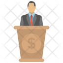Speaker Speechmaker Lecture Icon