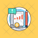 Financial Statement Graph Icon