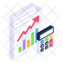 Financial Report Business Report Financial Statement Icon