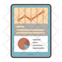 Financial Statement Financial Report Budget Report Icon