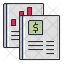 Financial Statements Bank Statement Business Report Icon
