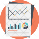 Financial Market Research Icon