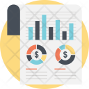 Financial Statistics Business Icon