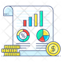 Financial Analysis Financial Statistics Statistics Analysis Icon