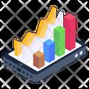 Online Analytics Financial Stock Market Capital Market Icon