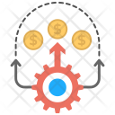 Financial Strategy Plan Icon