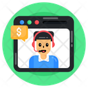Financial Support Icon