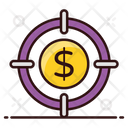 Financial Target Business Target Corporate Aim Icon