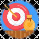 Financial Purpose Financial Target Financial Goal Icon