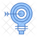 Financial Target Business Target Financial Goal Icon
