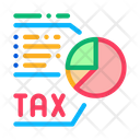 Tax Diagram System Icon