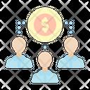 Finance Crowd Crowdfounding Man Icon