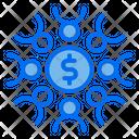 Teamwork Money Finance Icon