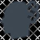 Dollar Financial Head Icon