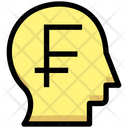 Business Financial Head Icon