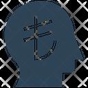 Financial Thinking Lira Head Icon