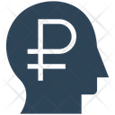 Financial Thinking Ruble Head Icon