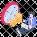 Financial Time Icon