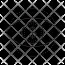 Dollar Vision Eye Icon