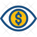 Financial Vision Eye Icon