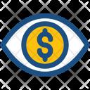 Financial vision Icon