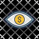 Financial Vision Finance View Financial Eye Icon