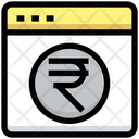 Rupees Website Website Rupees Icon