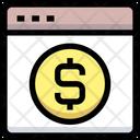 Dollar Website Website Dollar Icon