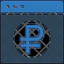 Ruble Website Website Ruble Icon