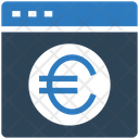 Euro Website Website Euro Icon