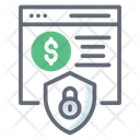 Financial Website Business Website Website Security Icon