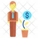 Ibusiness Person Financier Investor Icon