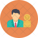 Employee Manager Professional Icon