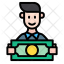 Financier Investor Man Icon