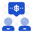 Conversation Business Discussion Icon