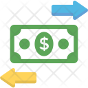 Financing Dollar Process Icon