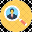 Find Person Search Icon