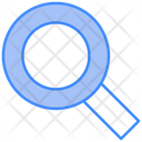 Find Glass Magnifying Icon