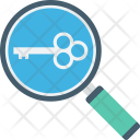 Find Key Magnifier Icon